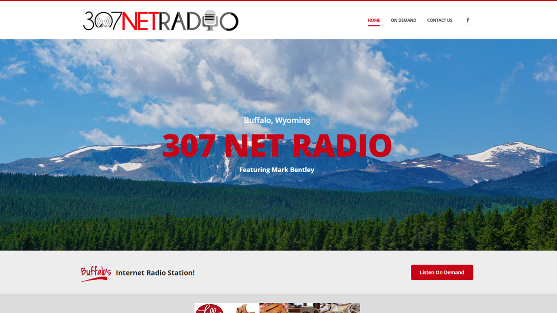 307NETRADIO.com website thumbnail 1