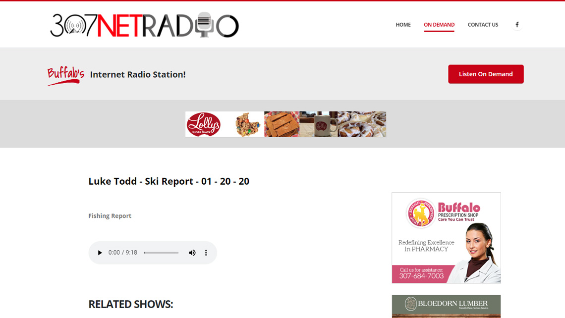 307NETRADIO.com website thumbnail 2