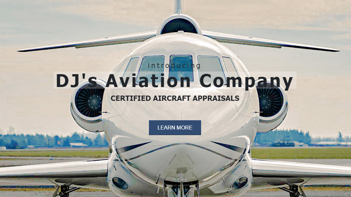 DJ's Aviation Company website thumbnail 1